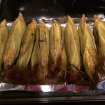 Fresh smoked corn