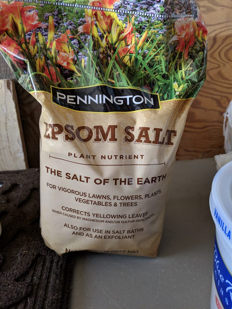 A good source of magnesium but not really a salt, Pennington Epsom Salt